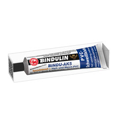 bindu ak5 pvc kleber 170 g tube faltschachtel kleber bindulin shop. Black Bedroom Furniture Sets. Home Design Ideas