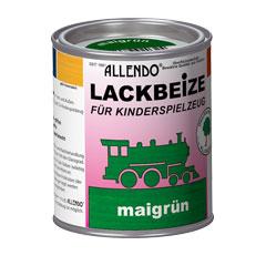 lackbeize f r spielzeug 750 ml metalldose farbe maigr n holzfarben bindulin shop. Black Bedroom Furniture Sets. Home Design Ideas