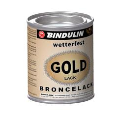 goldfix w wetterfest 125 ml metalldose farbe gold farben bindulin shop. Black Bedroom Furniture Sets. Home Design Ideas