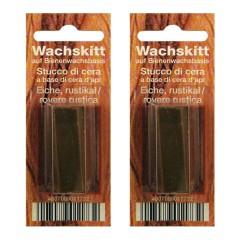 wachskitt stange 14 g stange sb farbe eiche rustikal kitte bindulin shop. Black Bedroom Furniture Sets. Home Design Ideas